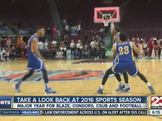 Year in Review: 2016 Bakersfield Sports