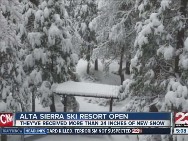 Alta Sierra open for the season