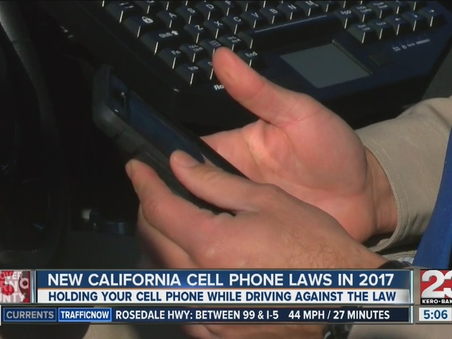 New California cell phone laws in 2017