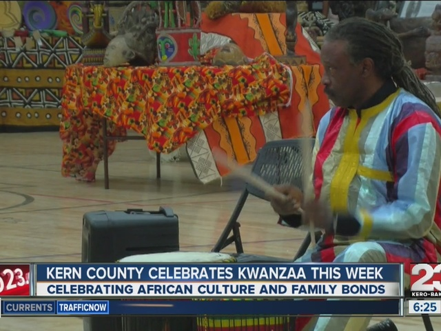 Bakersfield MLK Center celebrates Kwanzaa
