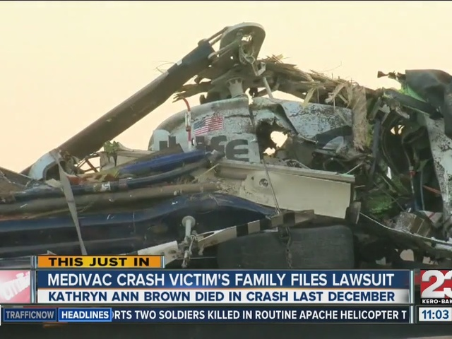 Family files wrongful death lawsuit in medical helicopter crash