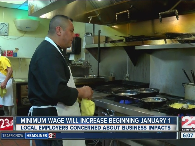 Local businesses concerned about minimum wage bump