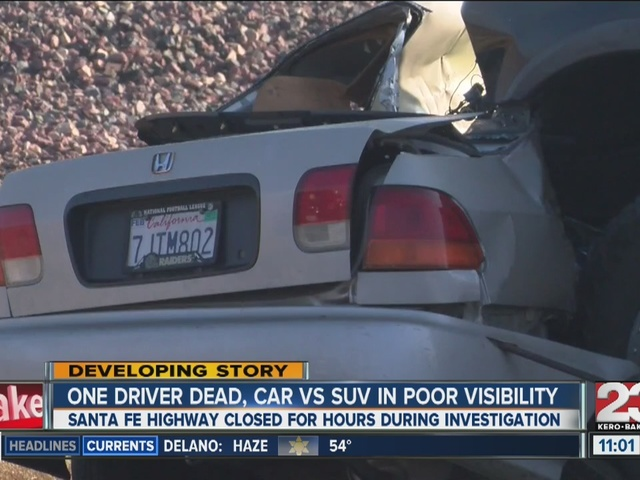 One dead in Shafter crash