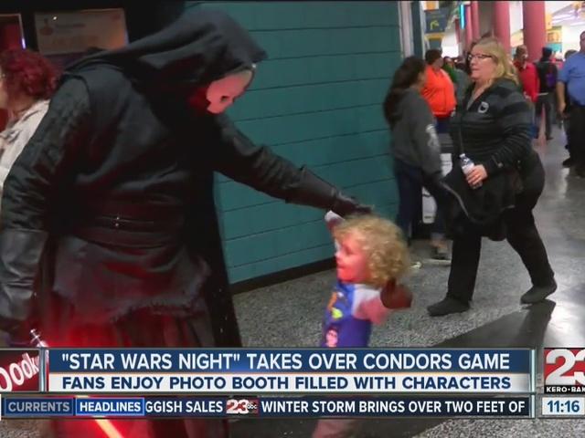Bakersfield Condors host Star Wars night