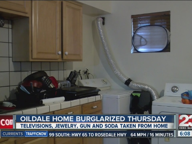 Oildale home burglarized Thursday