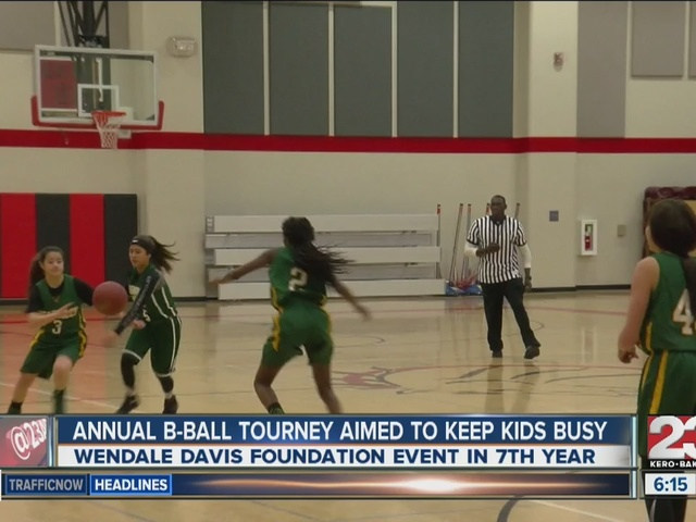 Annual basketball tournament aimed to keep kids busy