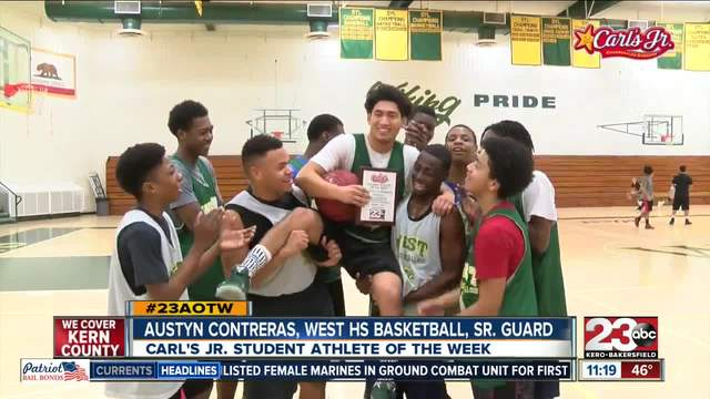 Male Athlete of the Week- Austyn Contreras