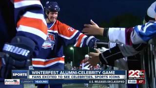 Gretzky/Robitaille coach alumni game in Bako