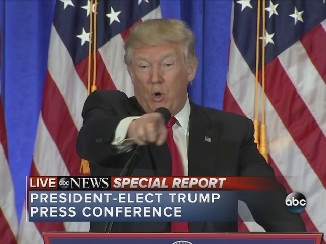 President-elect Trump calls out news organization as fake