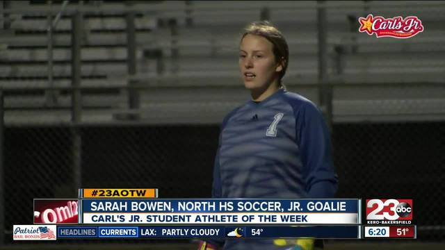 Female Athlete of the Week- Sarah Bowen