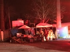 KCFD responds to early morning mobile home fire