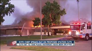 County fire chief speaks out about station cuts