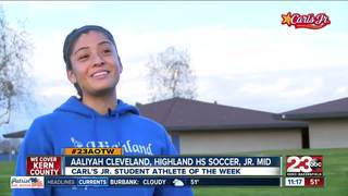Female Athlete of the Week: Aaliyah Cleveland
