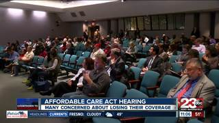 Affordable Care Act hearing held in Bakersfield