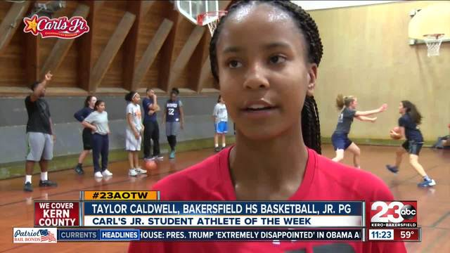 AOTW- Taylor Caldwell BHS