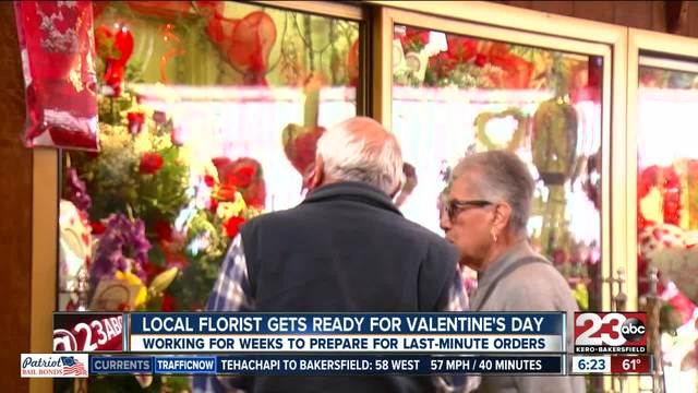 log cabin florist one of many businesses preparing for