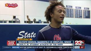 Male Athlete of the Week: Navonte Demison