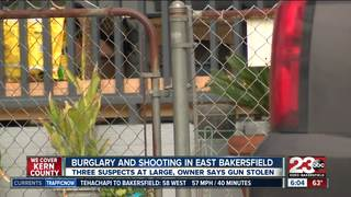 Shots fired after burglary in east Bakersfield