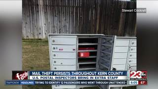 Ongoing fight against mail theft in Kern County