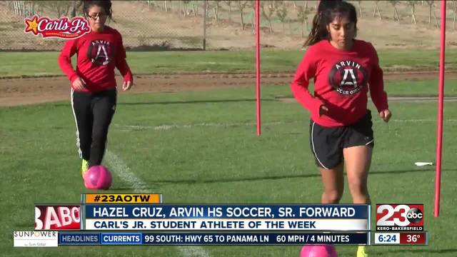 Female Athlete of the Week- Hazel Cruz