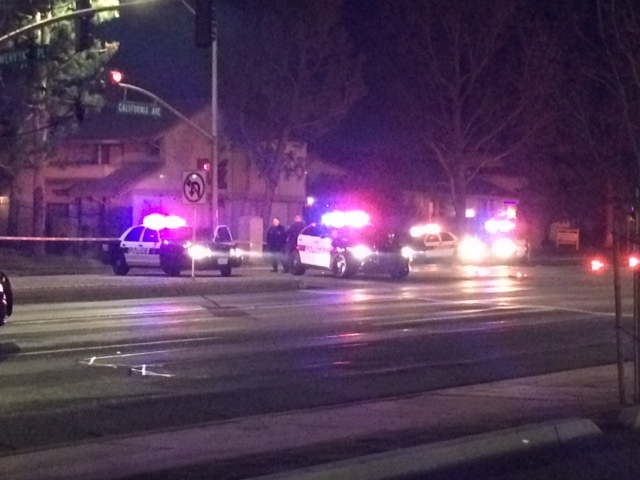 Man dead after being hit by car in SW Bkrsfld