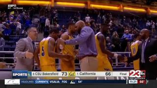 CSUB beats Cal, advances to next round of NIT
