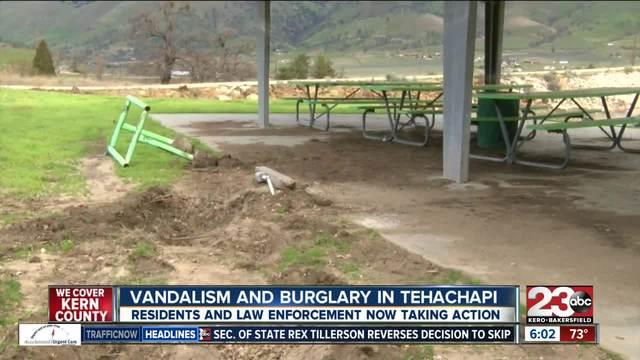 Tehachapi residents upset with recent crime