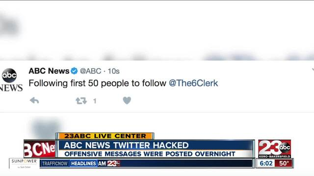 ABC News Twitter account hacked
