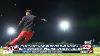 CSUB men's soccer playing Mexican team