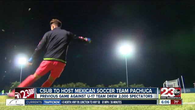 CSUB to host Mexican soccer team