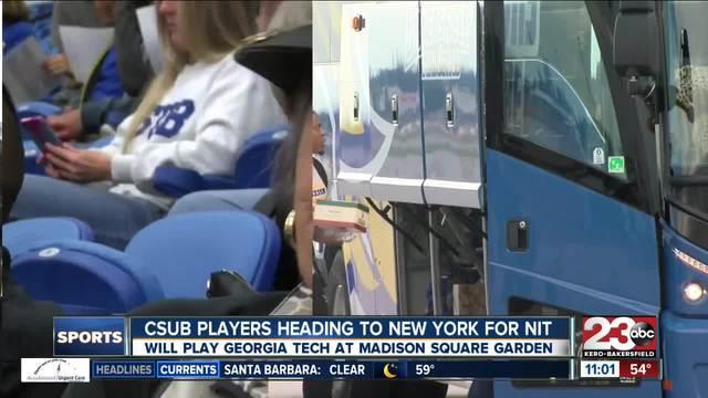 CSUB PLAYERS HEADED TO NYC