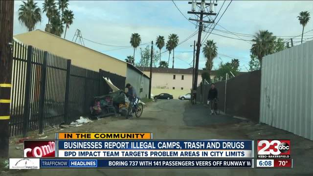 BPD Homeless -Impact- Team Targeting Problem Areas in City Limits