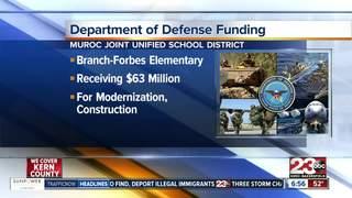 Local school gets $63M in DOD funding