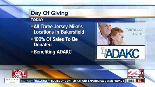 Jersey Mike-s Day of Giving