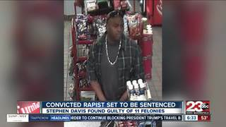 Convicted rapist set to be sentenced today