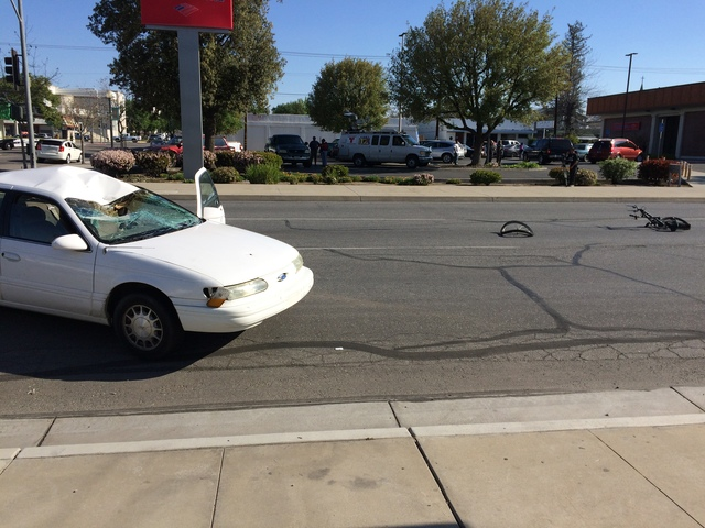 Bakersfield Police Department On Scene Of An Injury Crash