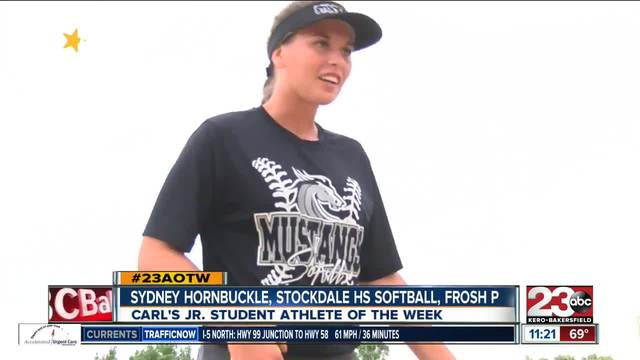 Female Athlete of the Week- Sydney Hornbuckle