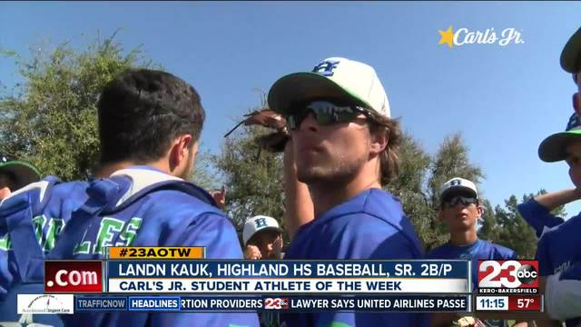 Male Athlete of the Week- Landn Kauk