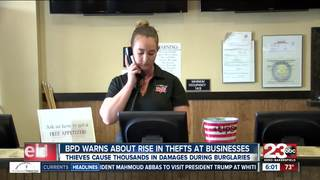 BPD warn of recent spike in business burglaries