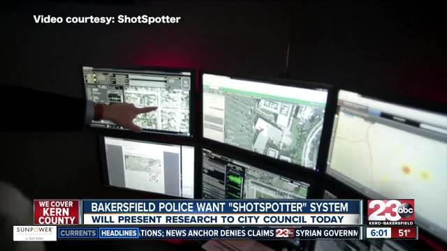 Bakersfield Police wants ShotSpotter System