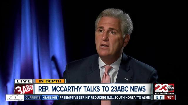 Majority House Leader Kevin McCarthy talks Valley Fever- Syria