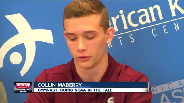 The first guy from Bakersfield is going NCAA in gymnastics