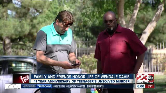 Family of Wendale Davis comes together to honor him on the 11th…
