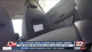 Suspect steals SUV with child inside in Delano