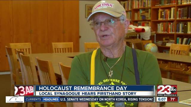 Holocaust survivor tells firsthand account