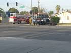 Accident reported in Downtown Bakersfield