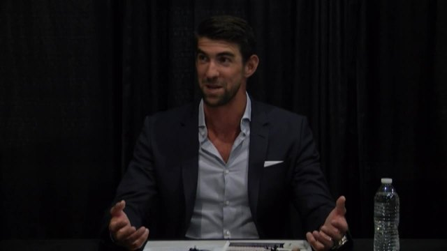 Olympic athlete Michael Phelps in Bakersfield for fundraising event