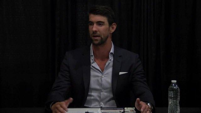 Michael Phelps- Interview