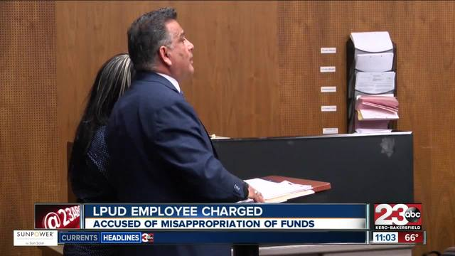 LPUD employee charged