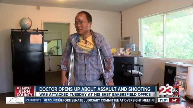 East Bakersfield doctor recalls the moments leading up to firing his gun
